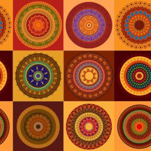 Indian Symbols Vector