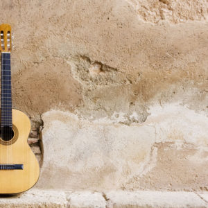Spanish Guitar on Wall