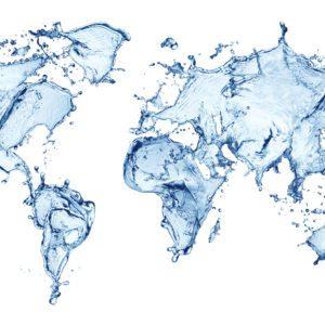 Water World Map