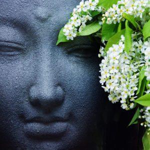 Buddha on Flowers
