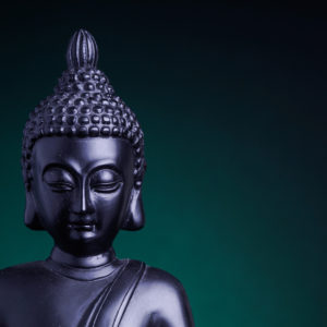Buddha on Green