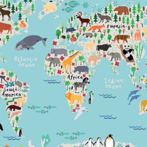 Kiddy World Map