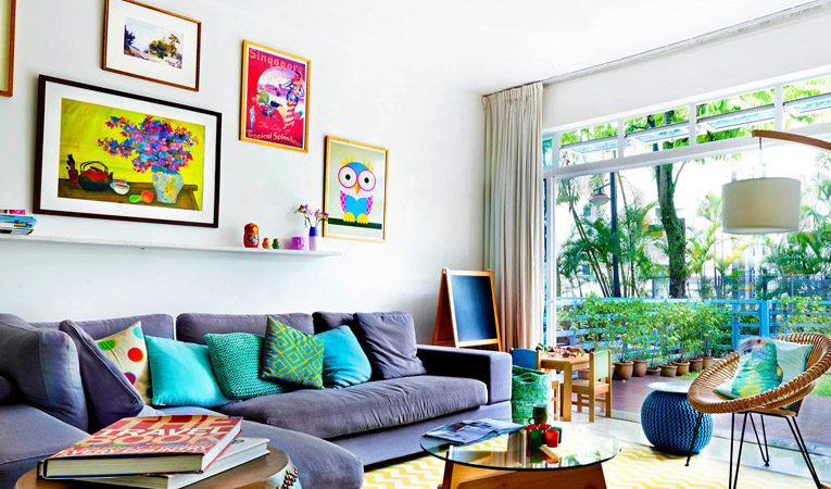 5 Colourful Home Decoration Ideas you would love | Print A Wallpaper