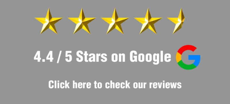 Paw google rating